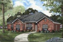 House Plan Design - European Exterior - Front Elevation Plan #17-1110