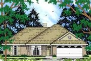 Ranch Style House Plan - 3 Beds 2 Baths 1138 Sq/Ft Plan #42-325 Exterior - Front Elevation