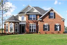 Dream House Plan - Traditional Exterior - Front Elevation Plan #927-28