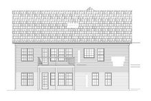 Dream House Plan - European Exterior - Rear Elevation Plan #119-274