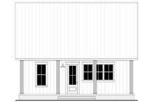 Farmhouse Exterior - Rear Elevation Plan #430-238