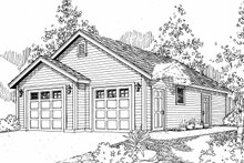Dream House Plan - Country Exterior - Other Elevation Plan #124-931