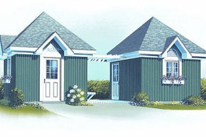 Traditional Exterior - Front Elevation Plan #23-762