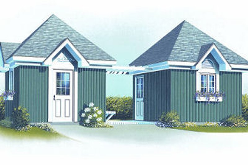 Home Plan - Traditional Exterior - Front Elevation Plan #23-762