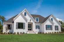 Architectural House Design - Ranch Exterior - Front Elevation Plan #430-169