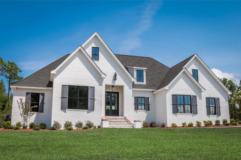 Dream House Plan - Ranch Exterior - Front Elevation Plan #430-169