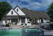 Farmhouse Exterior - Rear Elevation Plan #120-264