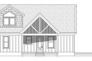 Country Style House Plan - 3 Beds 2 Baths 1400 Sq/Ft Plan #932-39