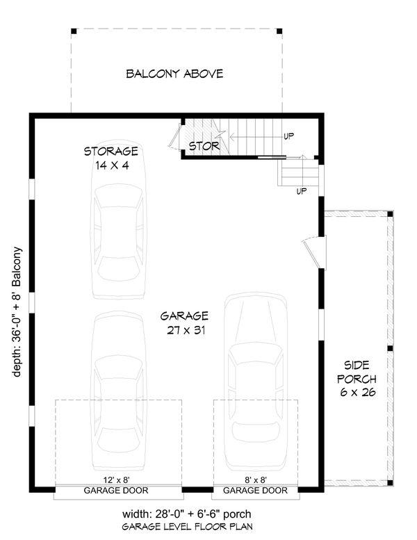 Dream House Plan - Cabin Floor Plan - Main Floor Plan #932-285