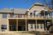 Home Plan - Traditional Exterior - Rear Elevation Plan #437-44