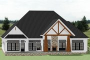 Farmhouse Style House Plan - 3 Beds 2.5 Baths 2928 Sq/Ft Plan #898-40 Exterior - Rear Elevation