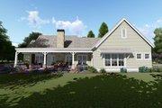Farmhouse Style House Plan - 3 Beds 4 Baths 2593 Sq/Ft Plan #1069-2 Exterior - Rear Elevation
