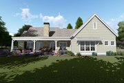 Farmhouse Style House Plan - 3 Beds 4 Baths 2593 Sq/Ft Plan #1069-2 Exterior - Rear Elevation
