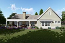 House Plan Design - Farmhouse Exterior - Rear Elevation Plan #1069-2