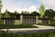 Modern Style House Plan - 2 Beds 2 Baths 1439 Sq/Ft Plan #509-31 Exterior - Front Elevation