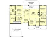 Country Style House Plan - 3 Beds 2 Baths 1834 Sq/Ft Plan #430-83