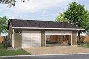Ranch Style House Plan - 0 Beds 0 Baths 1008 Sq/Ft Plan #22-547