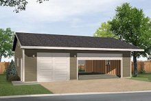 House Plan Design - Ranch Exterior - Front Elevation Plan #22-547