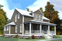Farmhouse Exterior - Front Elevation Plan #63-375