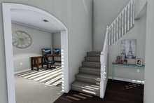 Traditional Interior - Entry Plan #1060-37