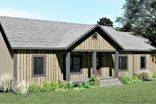 House Plan Design - Ranch Exterior - Other Elevation Plan #44-239