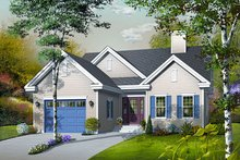 Dream House Plan - Traditional Exterior - Front Elevation Plan #23-783