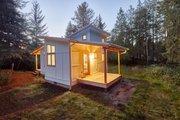 Craftsman Style House Plan - 1 Beds 1 Baths 432 Sq/Ft Plan #890-11 Photo