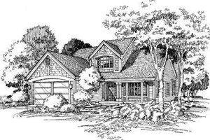 Traditional Exterior - Front Elevation Plan #320-113