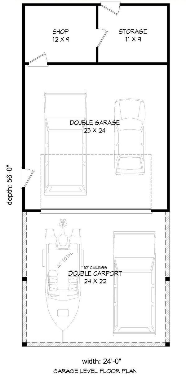Country Floor Plan - Main Floor Plan Plan #932-304