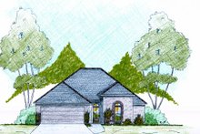 Traditional Exterior - Front Elevation Plan #36-480