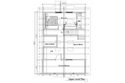 Log Style House Plan - 1 Beds 1.5 Baths 1695 Sq/Ft Plan #451-1