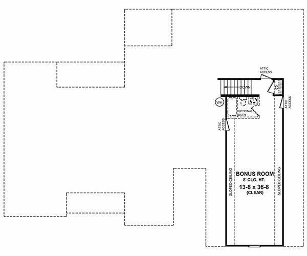 Home Plan - Traditional Floor Plan - Other Floor Plan #21-173