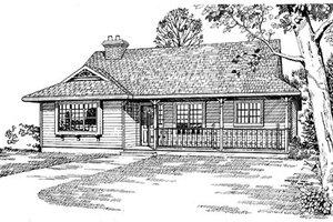Farmhouse Exterior - Front Elevation Plan #47-169