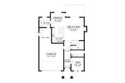 Contemporary Style House Plan - 4 Beds 2.5 Baths 2548 Sq/Ft Plan #48-990 Floor Plan - Main Floor Plan