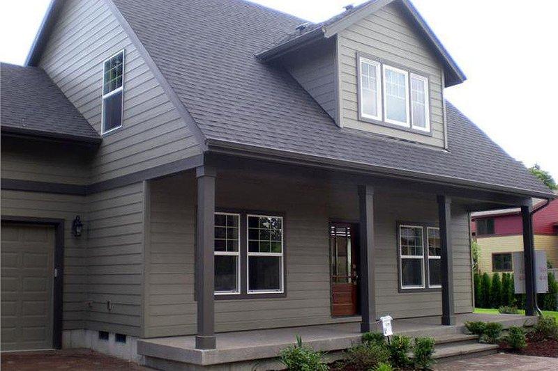 Home Plan - Craftsman Exterior - Front Elevation Plan #124-386