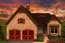 Home Plan - European Exterior - Front Elevation Plan #70-1161