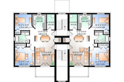 Traditional Style House Plan - 2 Beds 1 Baths 6201 Sq/Ft Plan #23-777 Floor Plan - Other Floor Plan