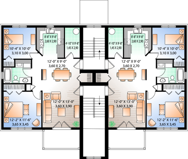 Traditional Floor Plan - Other Floor Plan Plan #23-777