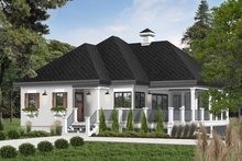 Home Plan - Farmhouse Exterior - Front Elevation Plan #23-2270