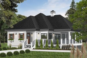 Farmhouse Exterior - Front Elevation Plan #23-2270