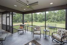 Traditional Exterior - Outdoor Living Plan #929-792