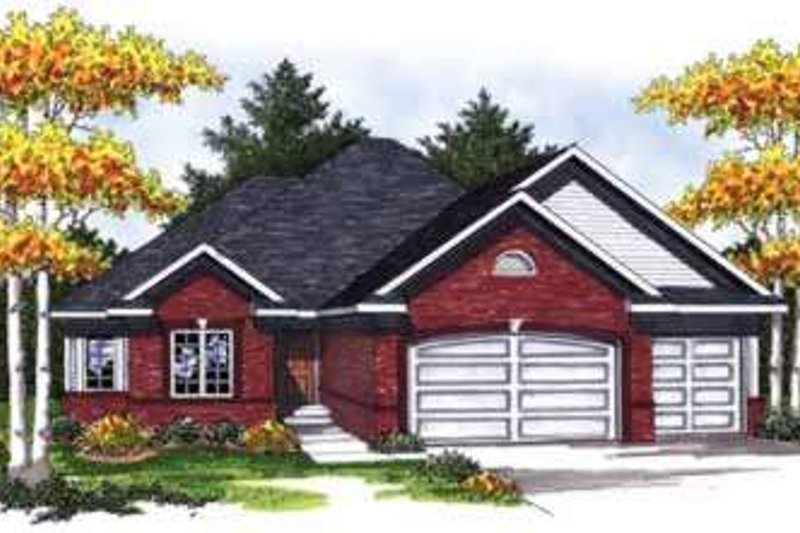 Dream House Plan - Traditional Photo Plan #70-832