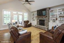 Ranch Interior - Family Room Plan #929-881