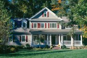Country Style House Plan - 5 Beds 4 Baths 3285 Sq/Ft Plan #429-24 Exterior - Other Elevation
