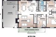 Farmhouse Style House Plan - 3 Beds 1 Baths 1176 Sq/Ft Plan #23-122 Floor Plan - Main Floor