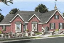 Dream House Plan - European Exterior - Front Elevation Plan #20-1828