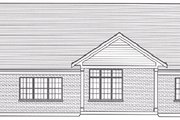 Craftsman Style House Plan - 3 Beds 2 Baths 1791 Sq/Ft Plan #46-511 Exterior - Rear Elevation