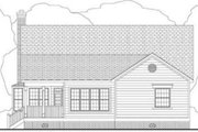 Southern Style House Plan - 3 Beds 2 Baths 1879 Sq/Ft Plan #406-158 Exterior - Rear Elevation