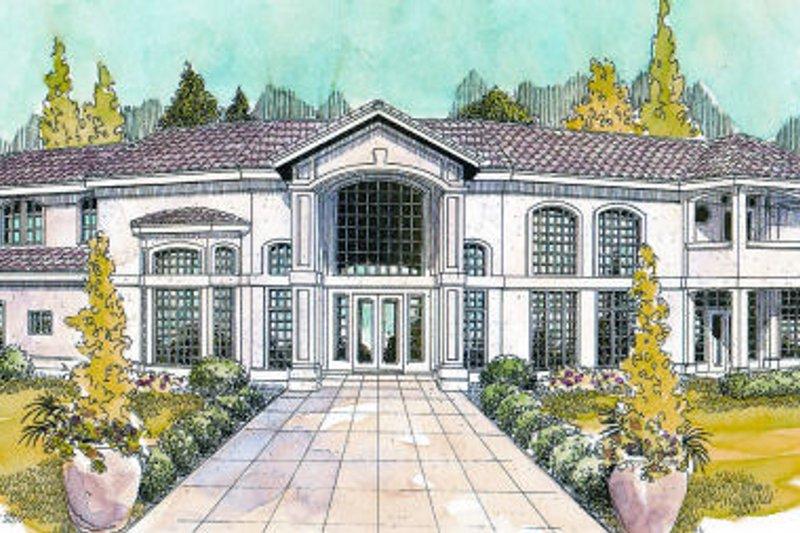 Dream House Plan - Exterior - Front Elevation Plan #124-646