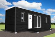 Modern Style House Plan - 1 Beds 1 Baths 270 Sq/Ft Plan #549-20